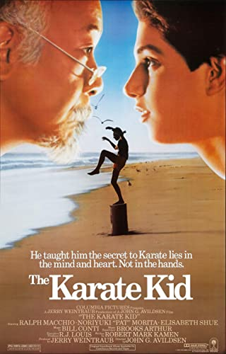The Karate Kid old